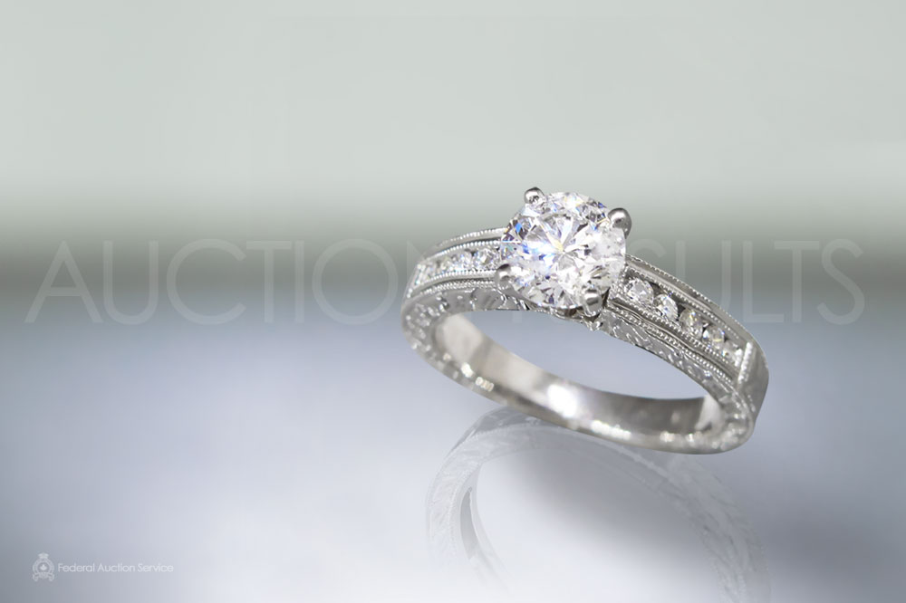 EGL Certified 2ct Diamond Ring sold for $23,000
