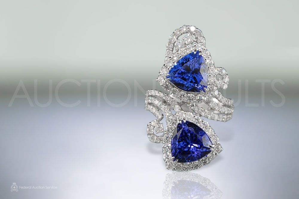 6.5ct Tanzanite Ring sold for $7,800