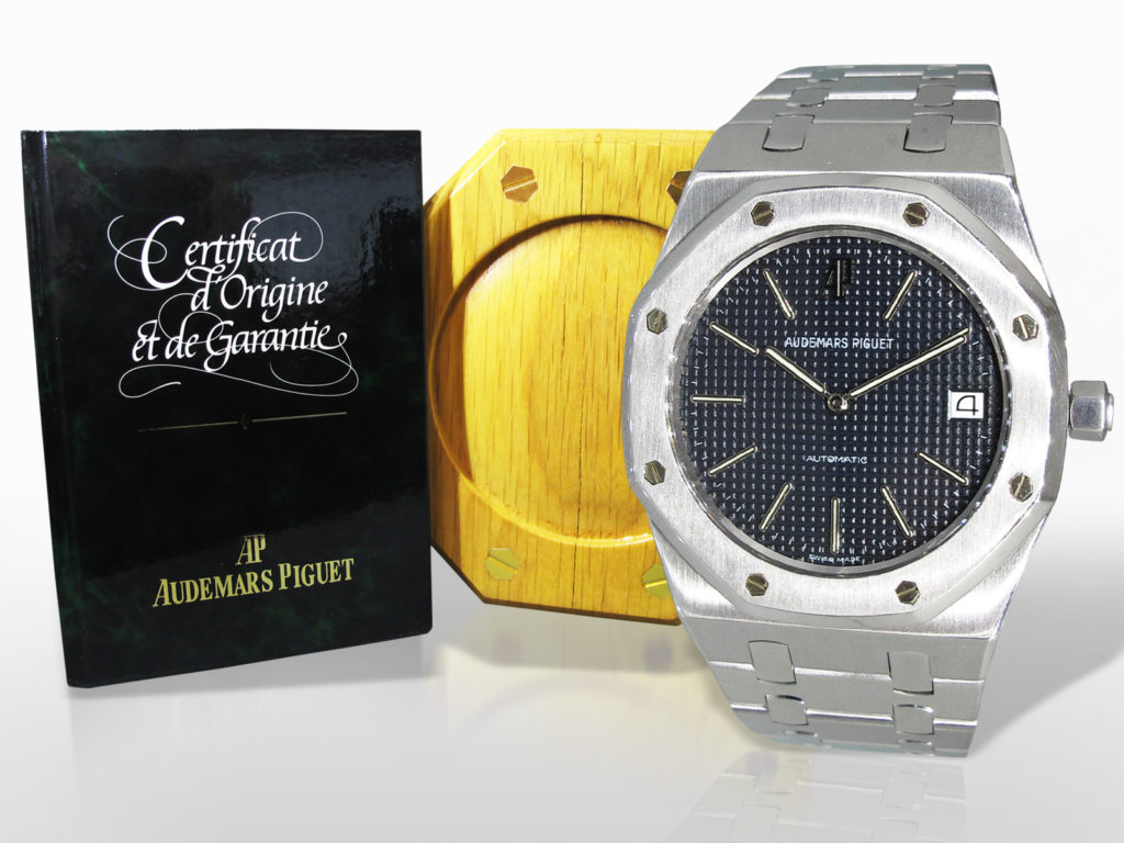 Men's Stainless Steel/White Gold Audemars-Piguet Royal Oak Jubilee Automatic Wristwatch. Limited Edition