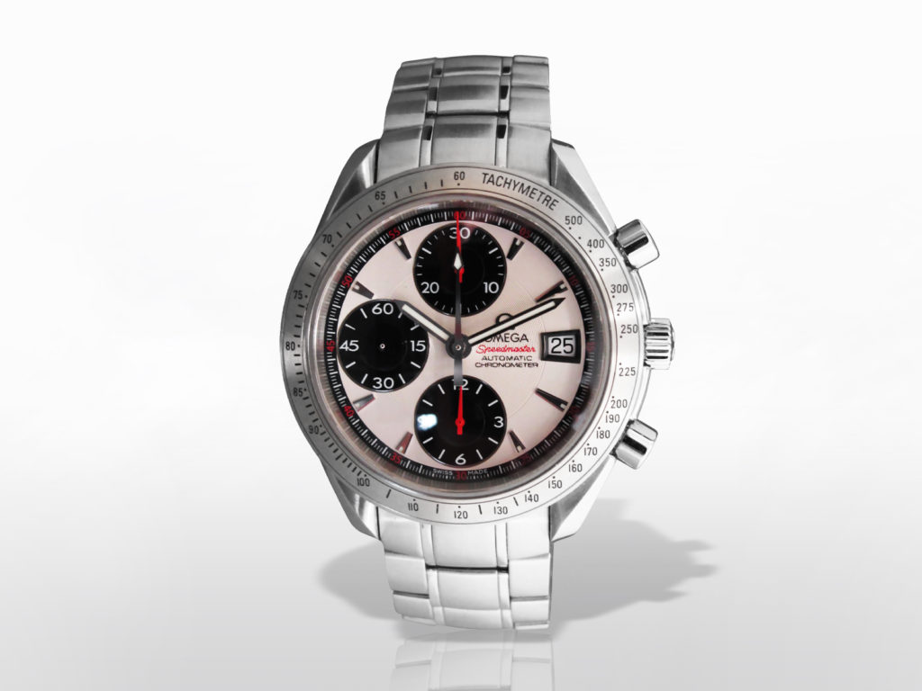 "Men's Stainless Steel Omega ""Speedmaster"" Chronograph"