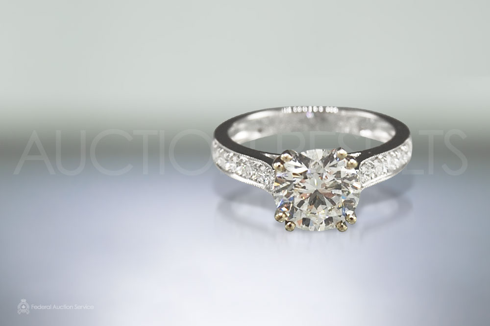 2ct HRD certified Diamond Ring sold for $20,000