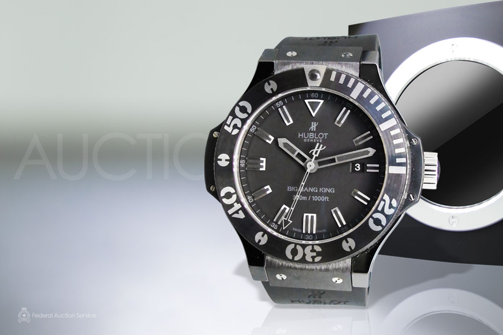 "Brand New Men's Hublot ""Big Bang King"" Ceramic Automatic Wristwatch sold for $12,250"
