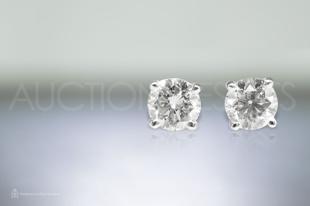 4ct Matching Diamond Stud Earrings sold for $35,000